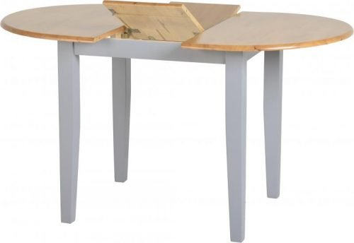 400-401-142 Oxford dining table grey - IWFurniture