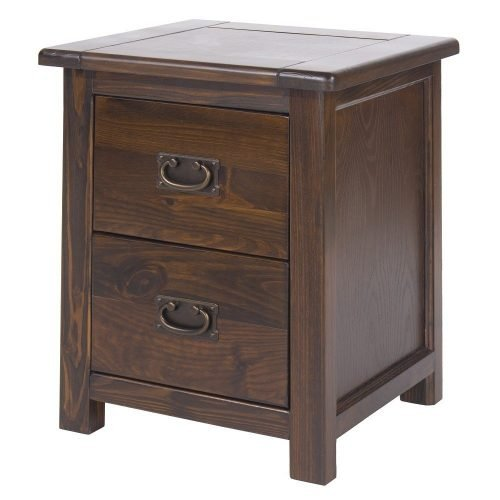Boston 2 drawer bedside cabinet BT210 - IWFurniture