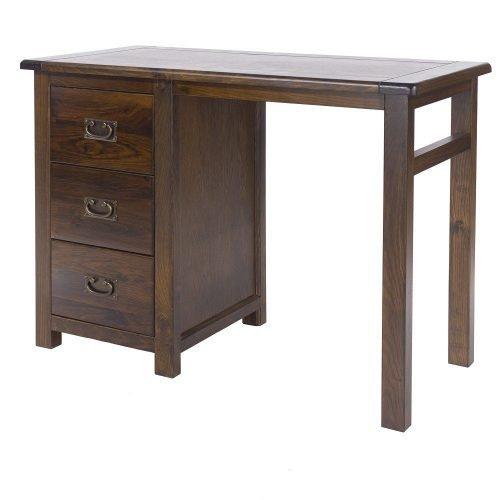 Boston single pedestal dressing table BT218 - IWFurniture