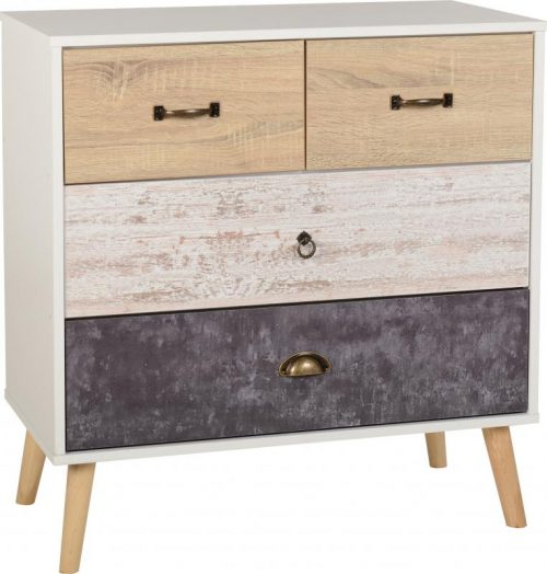 100-102-096 Nordic 2 -2 Drawer Chest - IWFurniture