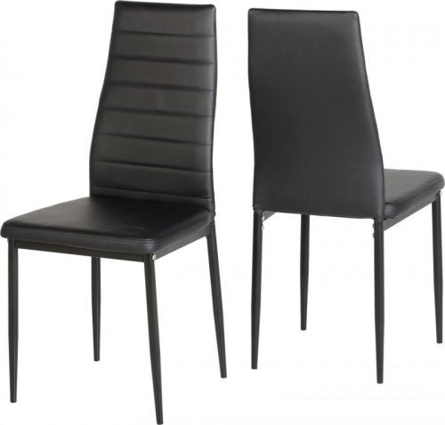 400-402-007 Abbey Chair Black - IWFurniture