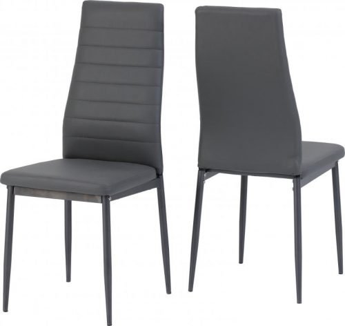 400-402-098 Abbey Chair Grey - IWFurniture