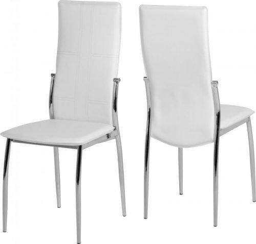 400-402-012 Berkley Dining Chair White - IWFurniture