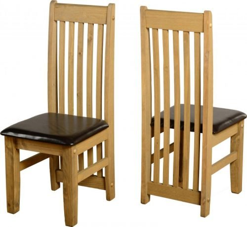 400-402-055 Tortilla Chair (PAIR) Brown - IWFurniture
