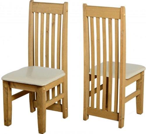 400-402-054 Tortilla Chair (PAIR) Cream - IWFurniture