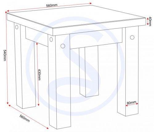 300-302-021 Tortilla Lamp Table - IWFurniture
