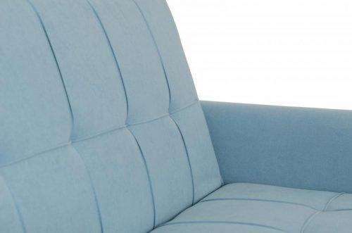 300-308-044Astoria Sofa Bed in Light Blue Fabric - IWFurniture
