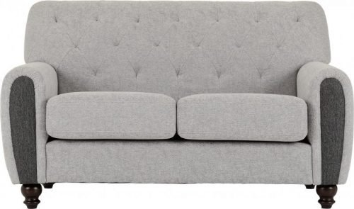 300-308-051 Chester 3+2 Suite in Light Grey Fabric - IWFurniture
