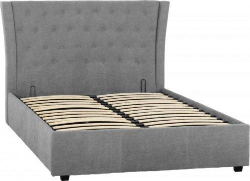 Camden 4 6 Bed in Grey Fabric 1