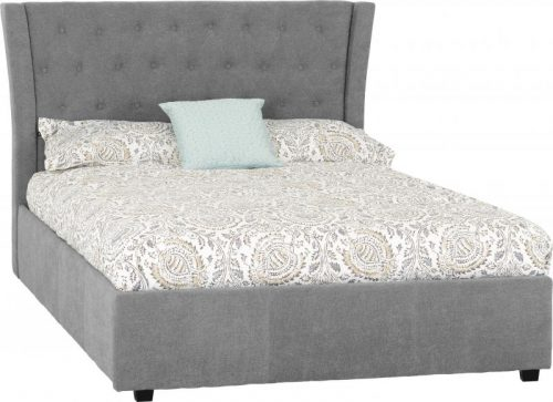Camden 4 6 Bed in Grey Fabric