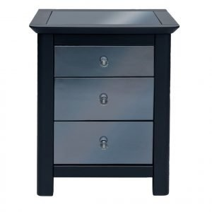 AY213 Ayr 3 drawer bedside cabinet - IWFurniture