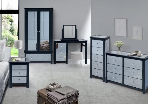 Ayr mirrored furniture - IW Furniture