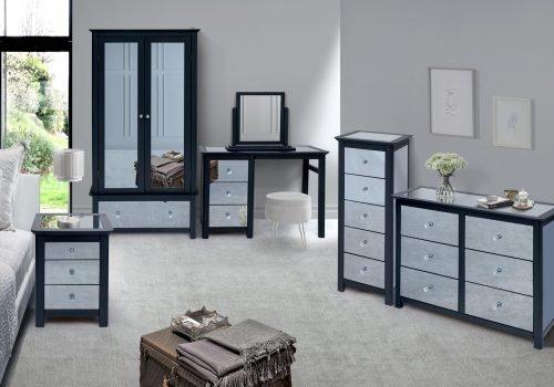 Ayr mirrored furniture - IW Furniture