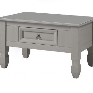 CPT902 Compact coffee table with glass top - IWFurniture