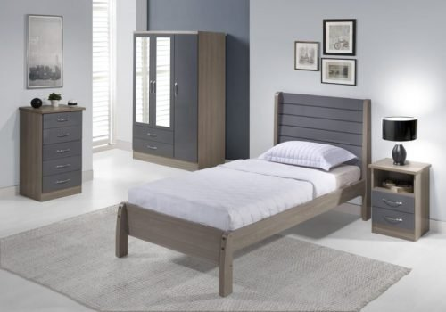 Nevada 3′ Bed 200-201-058 - IWFurniture