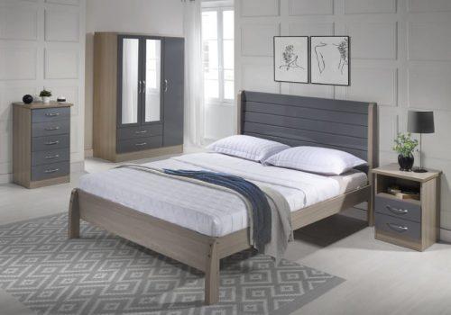 Nevada Grey Gloss - IW Furniture