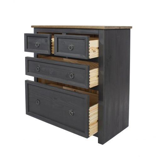 CRC512 Corona Carbon 2 plus 2 drawer chest - IWFurniture