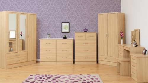 Nevada Oak Bedroom Furniture - IW Furniture
