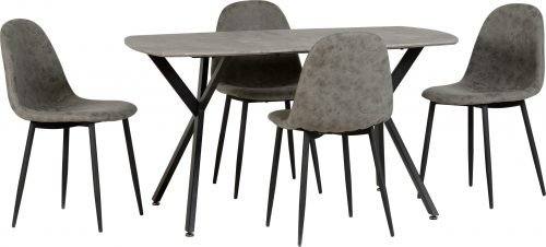 ATHENS DINING TABLE CHAIR CONCRETE EFFECT 400 403 043 scaled