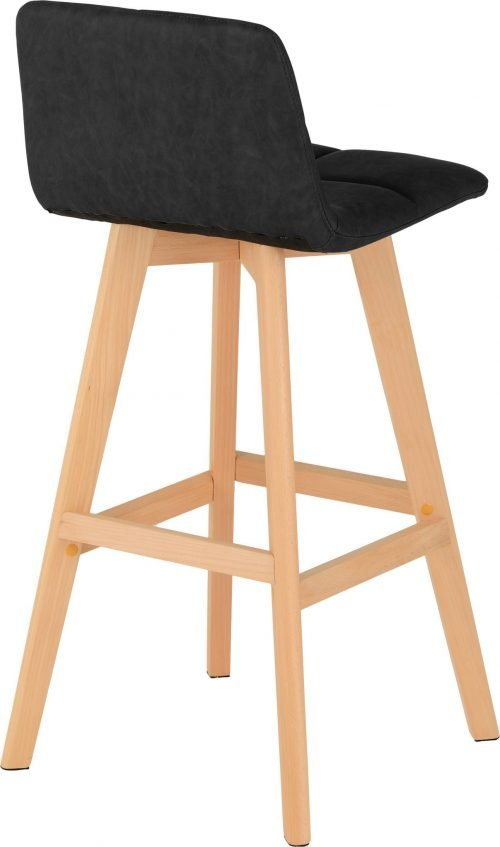 DARWIN BAR CHAIR BLACK PU 2020 02 400 404 019 scaled 1