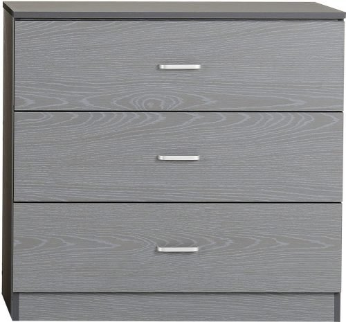 FELIX 3 DRAWER CHEST GREY 2019 02 100 102 112
