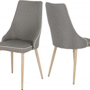 FINLEY DINING CHAIR GREY FABRIC 2019 00 400 402 095