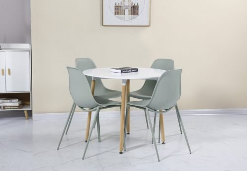 LINDON DINING SET WHITEGREENNATURAL OAK 02 400 401 188 scaled 1