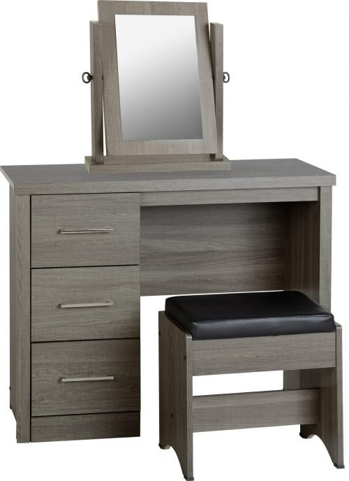 100-107-011 Lisbon 3 Drawer Dressing Table Set – IWFurniture