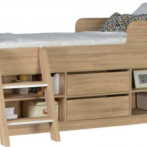 LRG FELIX LOW SLEEPER BED SONOMA 02 200 206 009 scaled