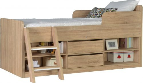 LRG FELIX LOW SLEEPER BED SONOMA 02 200 206 009 scaled