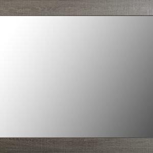 LRG LISBON MIRROR BLACK WOOD GRAIN 600 602 006