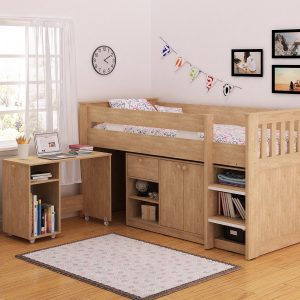 Merlin Study Bunk - IW Furniture Beds