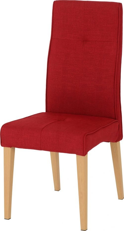 LUCAS DINING CHAIR RED FABRIC 2020 01 400 402 105 scaled 1
