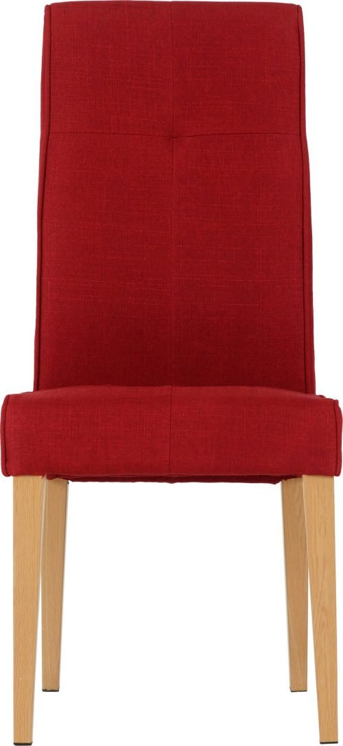 LUCAS DINING CHAIR RED FABRIC 2020 03 400 402 105 scaled 1