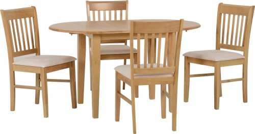 OXFORD EXTENDING DINING SET NATURAL OAKMINK MICROSUEDE 01 400 401 065 scaled