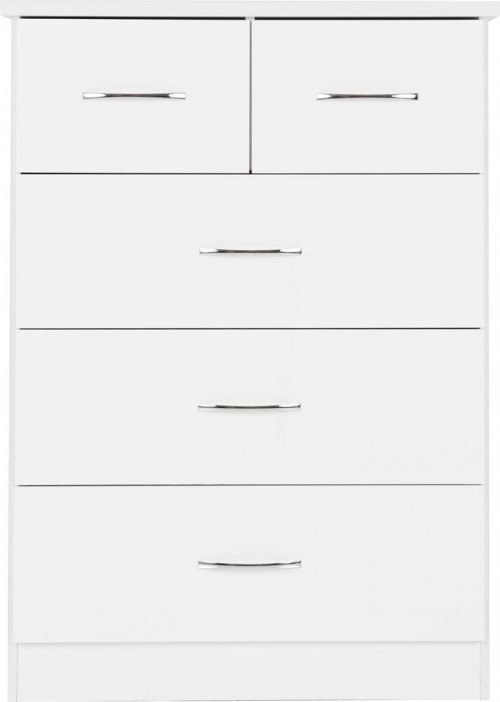 Nevada 3+2 Drawer Chest -03-100-102-106 - IW Furniture