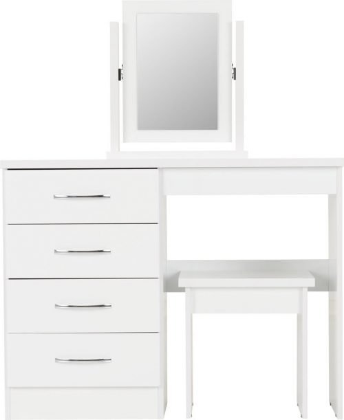 Nevada 4 Drawer Dressing Table Set-03-100-105-017 - IW Furniture