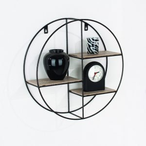 LF101 - Round display shelf 400mm dia - IW Furniture