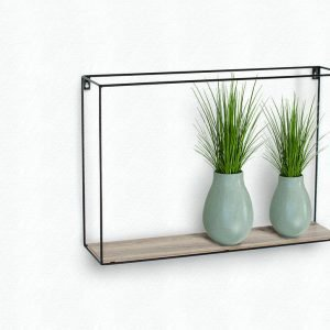 LF103 - Rectangular display wall shelf - IW Furniture