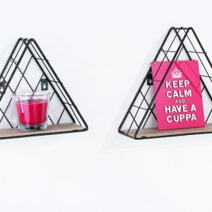 LF106 - Triangle set of 2 display shelf - IW Furniture
