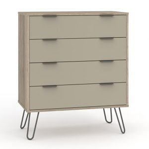 AGD514 4 drawer chest of drawers - IWFurniture
