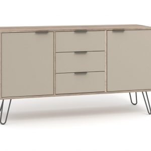 AGD916 medium sideboard with 2 doors 3 drawers - IWFurniture