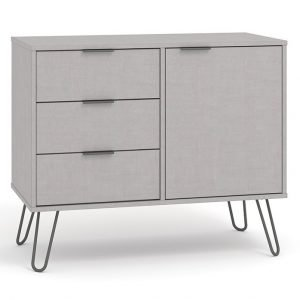 AGG915 small sideboard with 1 doors 3 drawers - IWFurniture