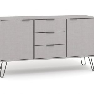 AGG916 medium sideboard with 2 doors 3 drawers - IWFurniture