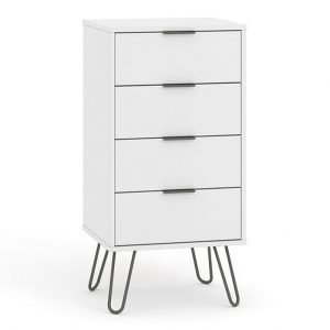 AGW517 4 drawer narrow chest of drawers - IWFurniture