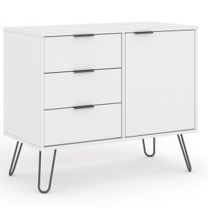 AGW915 small sideboard with 1 door 3 drawers - IWFurniture