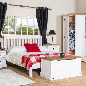 Corona Washed White Furniture