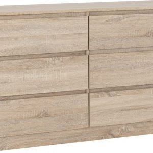 MALVERN 6 DRAWER CHEST SONOMA OAK EFFECT 2020 100 102 127 01 820x580 1
