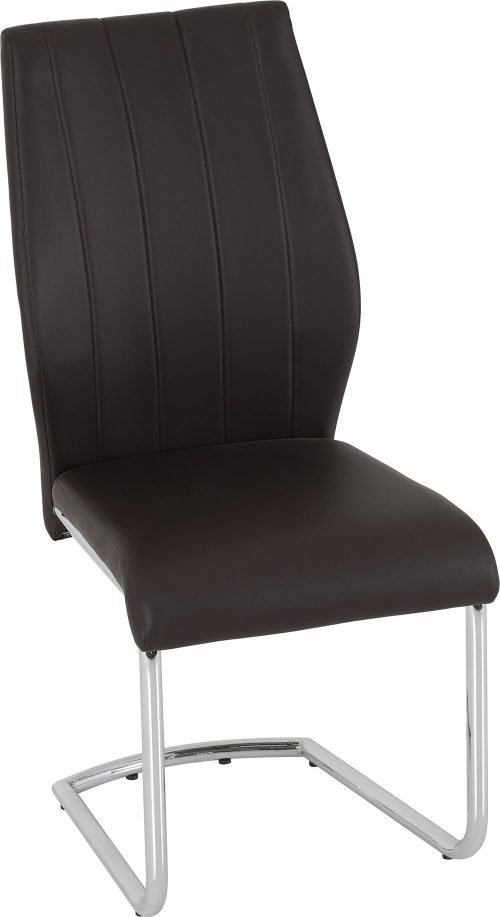 MILAN DINING CHAIR BROWN FABRIC 2020 400 402 089 01
