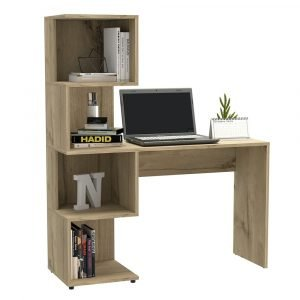 Brooklyn Desk with Tall Shelves - IW Furniture